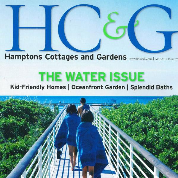 Hamptons Cottages & Gardens August 2007