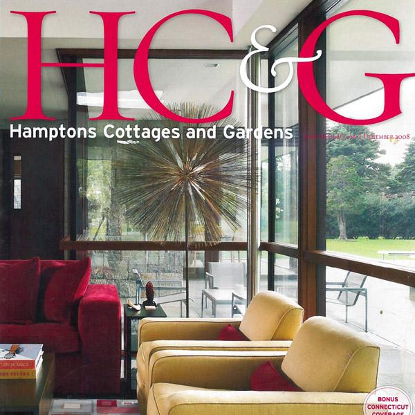 Hamptons Cottages & Gardens August 2008