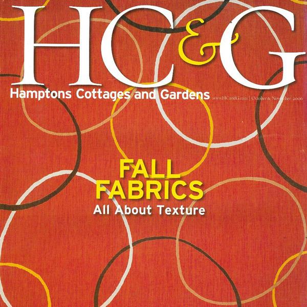 Hamptons Cottages & Gardens November 2006